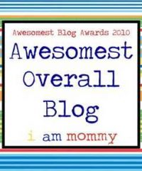 awesome mom award