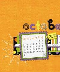 Leelou Blogs free wallpaper October 2010 image