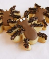 hairy spider cookies