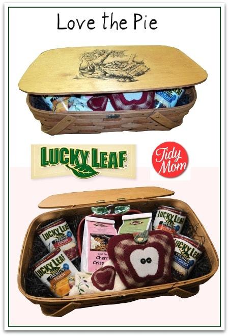 Lucky Leaf Pie Basket