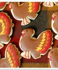 Turkey Cookies at TidyMom.net