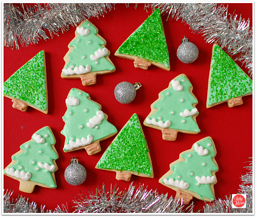 Decorated Christmas Tree cookies  sc 1 st  TidyMom & Decorated Christmas Cookies Can Be Easy