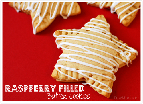 Raspberry Filled Butter Cookie Recipe