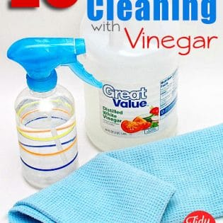 Vinegar could possibly be the only cleaning product you will ever need!! It's powerful, economical and best of all, natural! Get 10 Top Tips for Cleaning with Vinegar at TidyMom.net