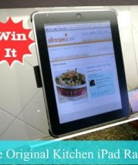 Win It Kitchen iPad Rack