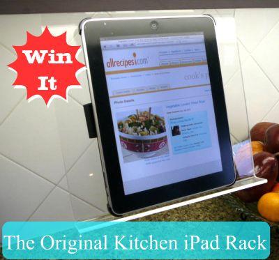 I\'m Lovin\' It - Kitchen Ipad Rack | TidyMom®