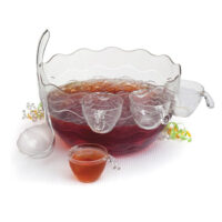 CreativeWare Punch/Salad Bowl 16-Piece Set
