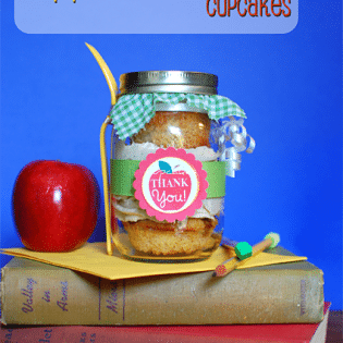 Apple Caramel Teacher Appreciation Cupcakes at TidyMom.net