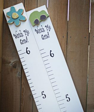 How to Make a Wood Growth Chart