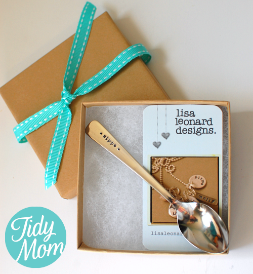 Lisa Leonard baby spoon