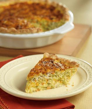 Brocoli Slaw Broccoli and Garlic Quiche