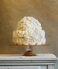 royal wedding rose cake