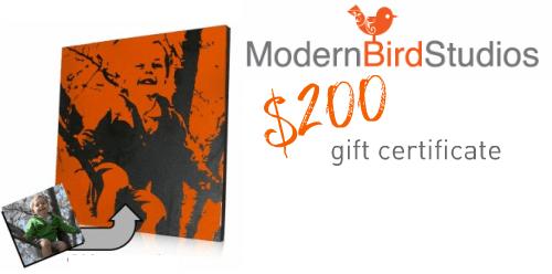Modern Bird giveaway