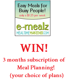 3 Months FREE Meal Planning