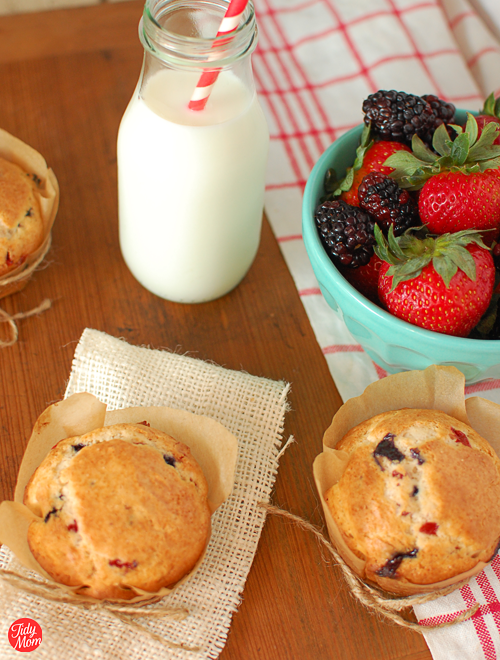 Berry Muffins recipe