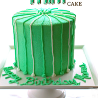 Thin Mint Cake recipe