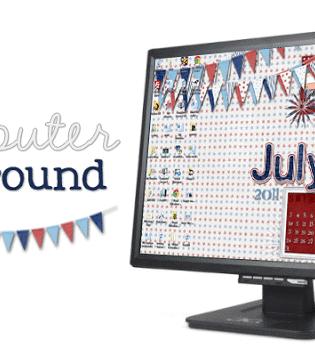 july 2011 computer background image