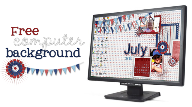 july 2011 computer background image
