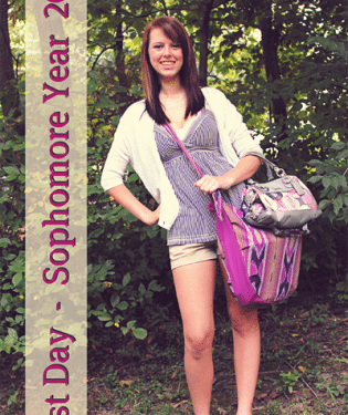 first day sophomore year