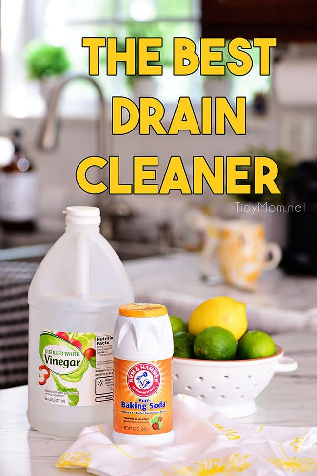 The Best Homemade Drain Cleaner