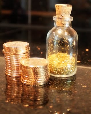 tooth fairy dust and coins