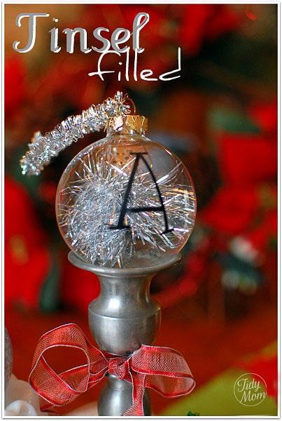 3 Handmade Christmas Ornament Tutorials {easy & inexpensive} at TidyMom.net