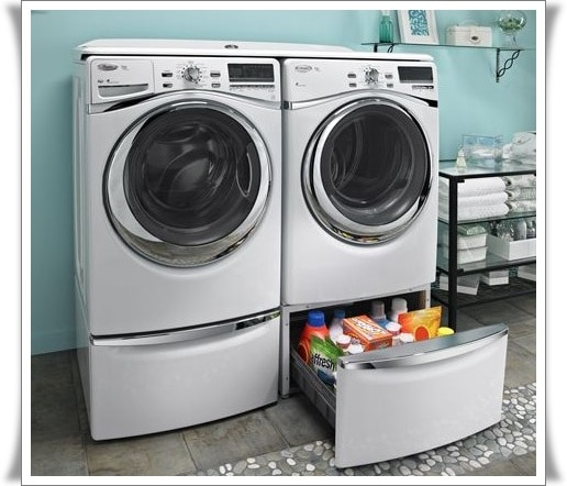 Laundry With Whirlpool Duet Washer And Dryer