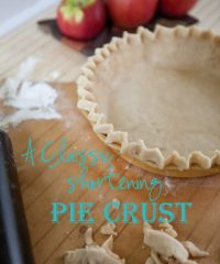 How to Make shortening pie crust and recipe