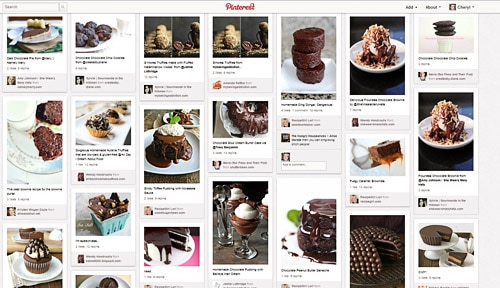 Chocolate Recipes Pinterest Board