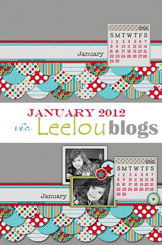 Leelou blogs January 2012 free desktop background