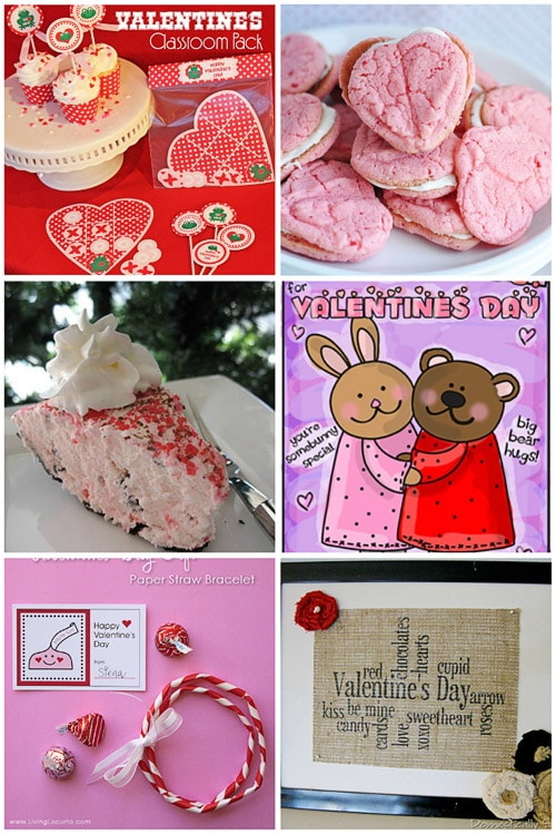 Valentines Day crafts and food