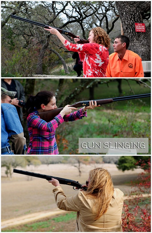gun slinging