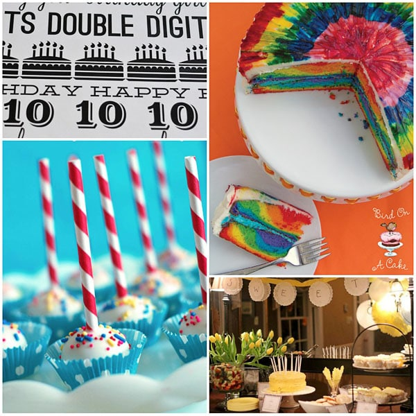 Birthday Party Ideas and Treats