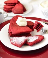 Red Velvet Heart Pancakes_TidyMom