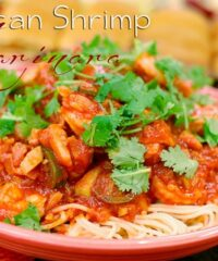Mexican Shrimp Marinara recipe