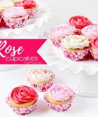 how to make Rose Cupcakes with quick-crusting buttercream