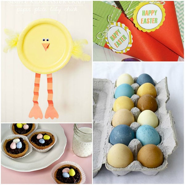 Easter food and crafts