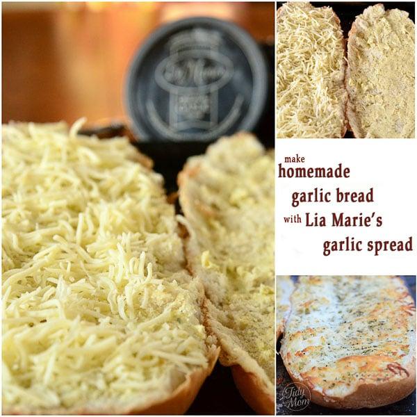 Homemade Lia Maries Garlic Bread