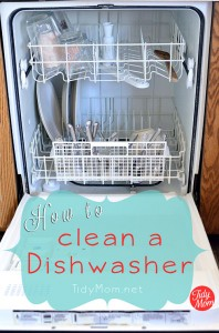 Find out How to clean a dishwasher at TidyMom.net