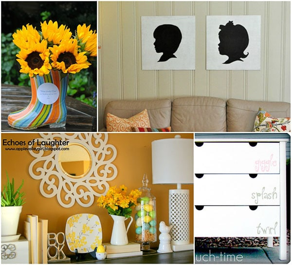 Spring projects featured at TidyMom.net