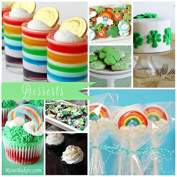 St. Patrick's Day Dessert Recipes at TidyMom.net