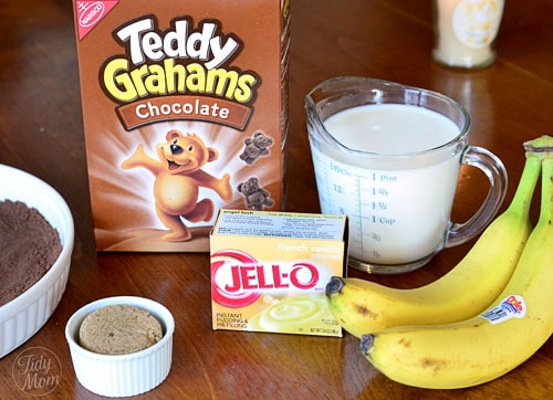 banana creme brulee ingredients