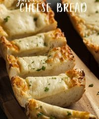 Toasted Garlic Cheese Bread Recipe at TidyMom.net