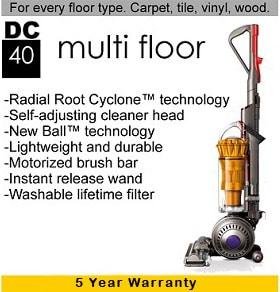 Dyson DC40 info