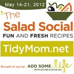Salad Social button