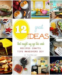 12 Great Ideas recipes and projects