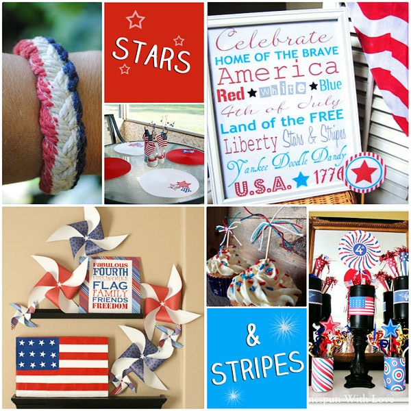 4th of July Projects and Printables at TidyMom.net