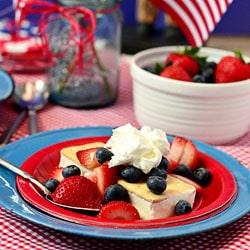 Patriotic Shortcake Ice Cream Sandwich at TidyMom.net