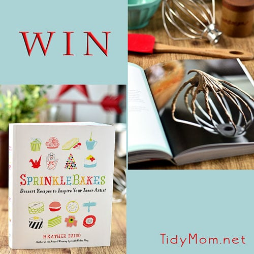 Win SprinkleBakes at TidyMom