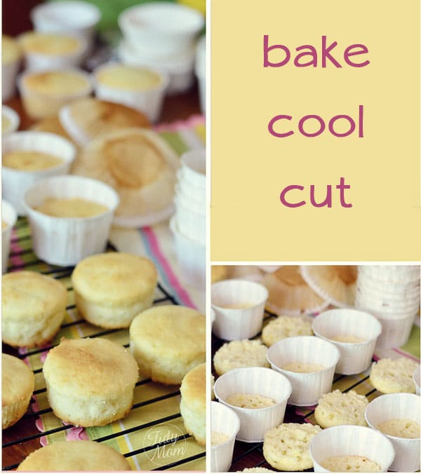 ice cream cupcakes bake and cool